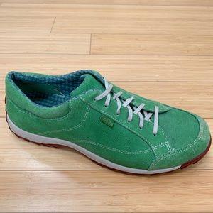 SIMPLE men's green sneakers, 12.